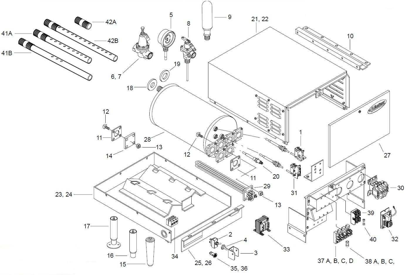 Cj2a parts manual on